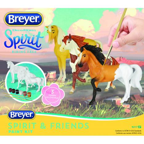 Breyer Deluxe Spirit and Friends Painting Kit