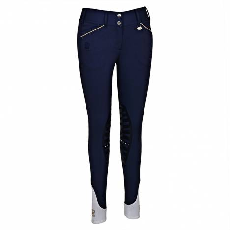 George Morris Ladies Add Back Knee Patch Breeches