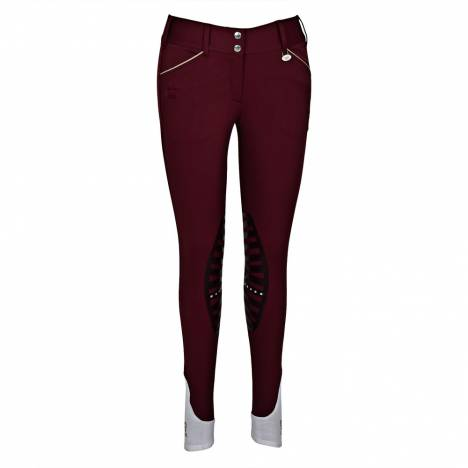 Equine Couture Ladies Add Back Knee Patch Breeches