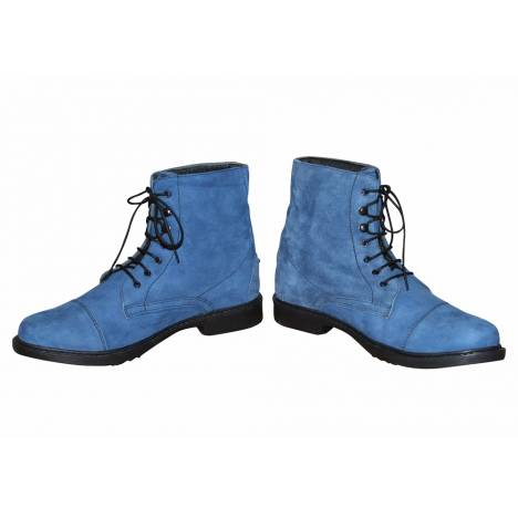 Tuffrider Ladies Blue Suede Shoes