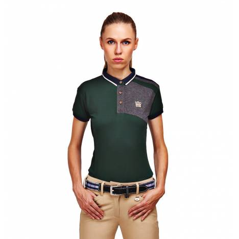 George Morris Ladies Hunter Short Sleeve Polo Shirt