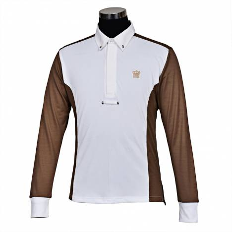George Morris Mens Champion Long Sleeve Show Shirt