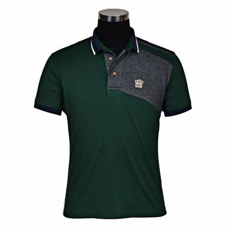 George Morris Mens Hunter Short Sleeve Polo Shirt