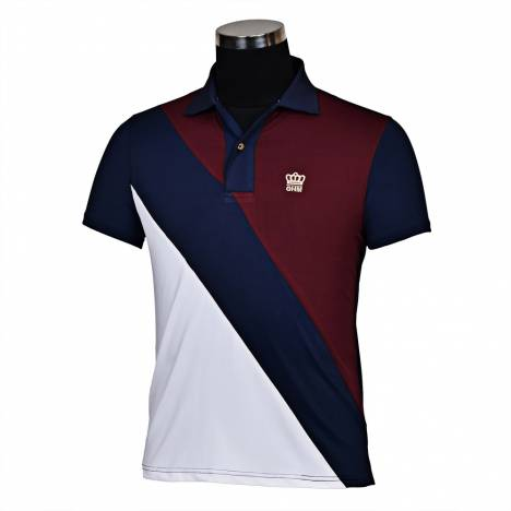 George Morris Mens Pro Sport Short Sleeve Polo Shirt