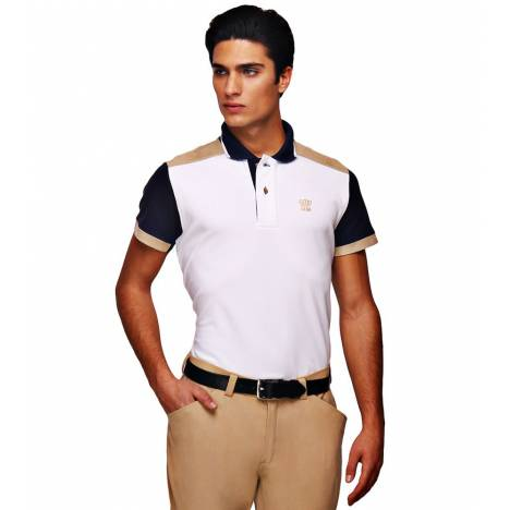 George Morris Mens Reserve Short Sleeve Polo Shirt