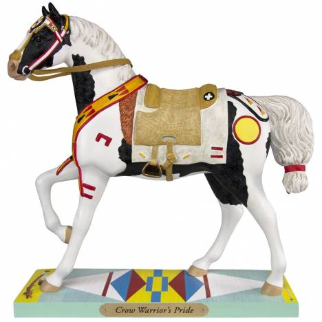The Trail Of Painted Ponies Crow Warriors Pride