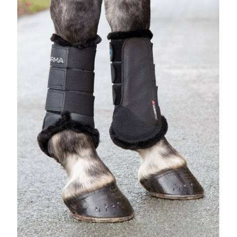 Shires Arma Fleece Lined Brushing Boots