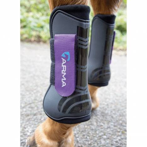 Shires Arma Open Front Tendon Boots