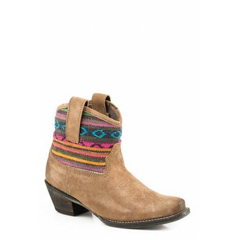 Roper Ladies Beccy Bright Snip Toe Ankle Boots