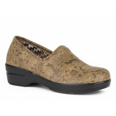 Roper Ladies Claire Faux Leather Clog