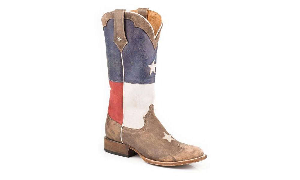d783f126a02 Roper Ladies Lone Star Square Toe Cowgirl Boots | HorseLoverZ