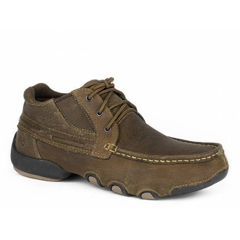 Roper Mens High Country Cruisers Sport Driving Mocs