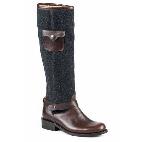 Stetson Ladies Adriana Round Toe Tall Fashion Boots