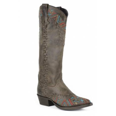 Stetson Ladies Doli High Top Snip Toe Fashion Cowgirl Boots