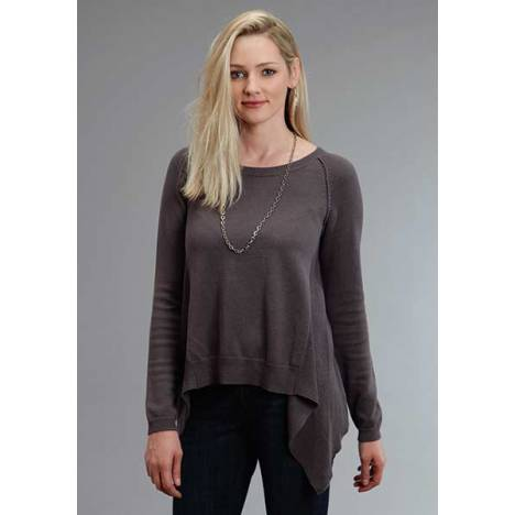 Stetson Ladies Fall III Sweater Knit Peasant Top