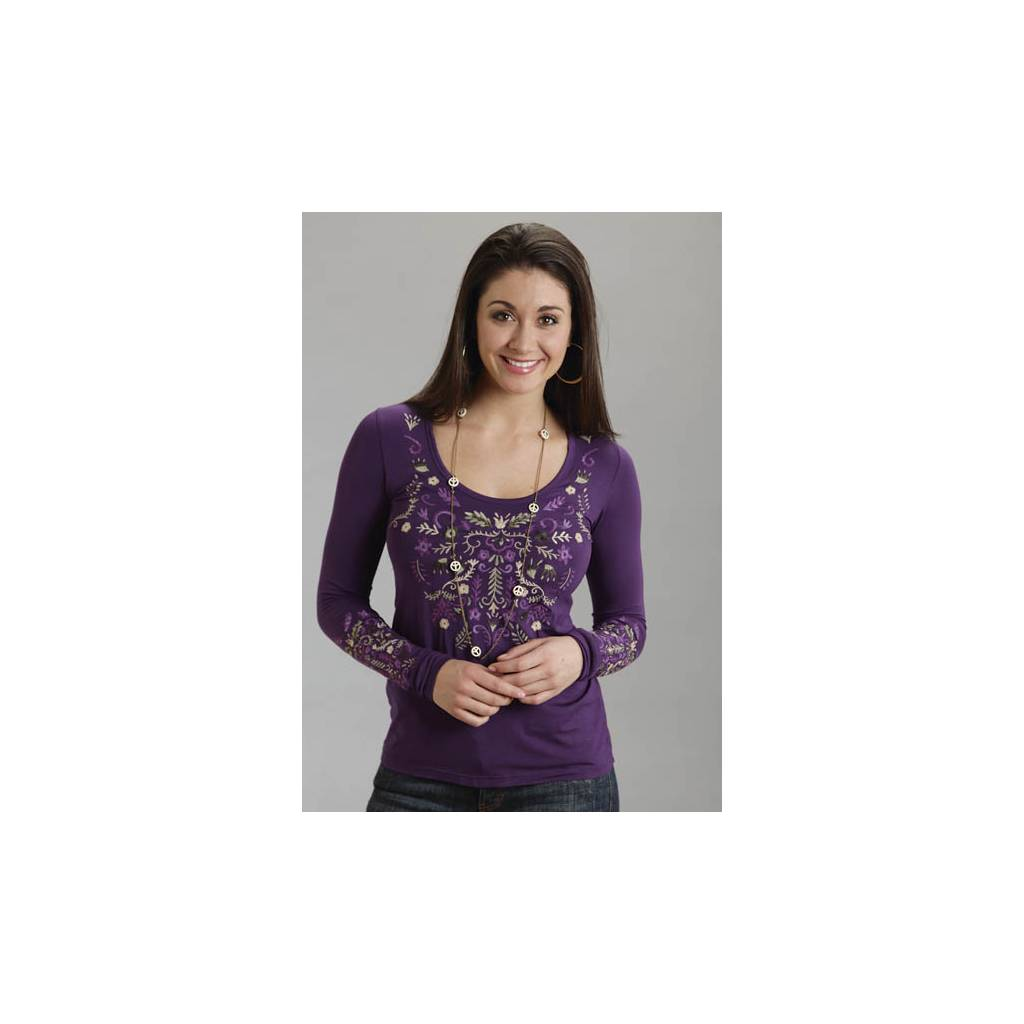 Stetson Ladies Fall/Winter IV Rayon Spandex Jersey Tee