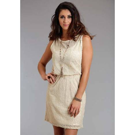 Stetson Ladies Spring II Floral Lace Tank Dress