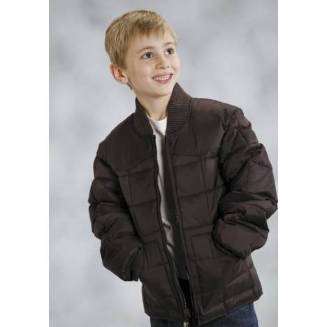 Roper Boys Range Gear Quilted Down Jacket