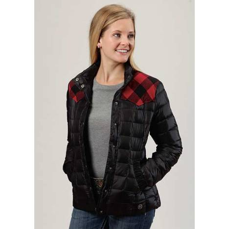 Roper Ladies Parachute Crushable Jacket With Contrast Yokes