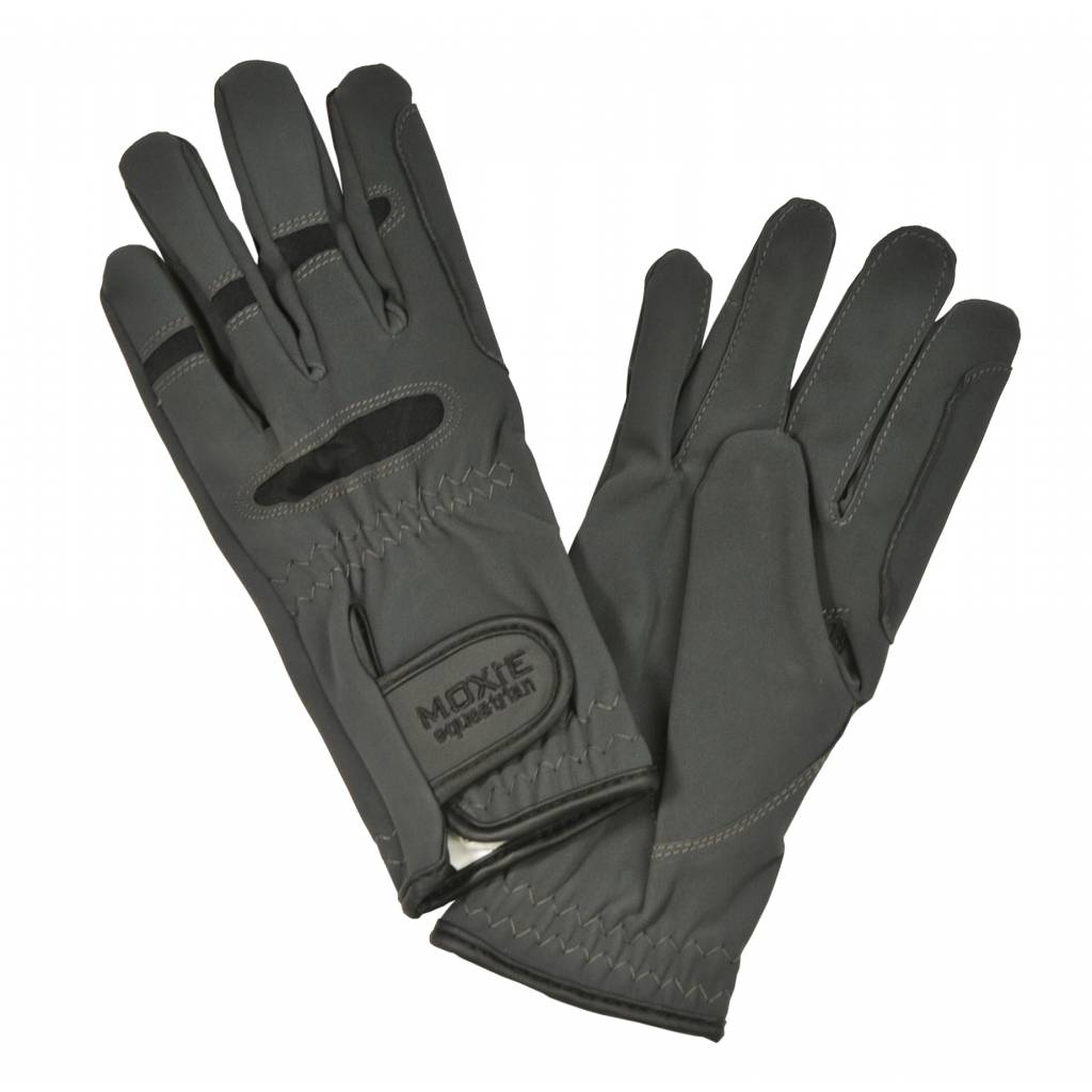 Moxie Micro-Suede Unisex Riding Gloves