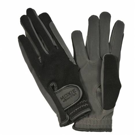 Moxie Micro-Suede Stretch-Back Unisex Riding Gloves
