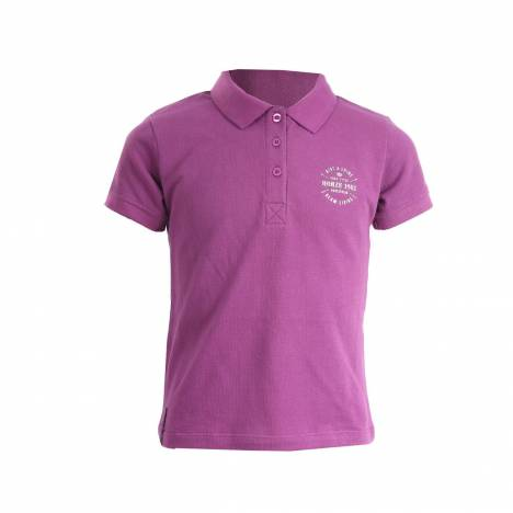 Horze Junior Girls Holly Polo Shirt