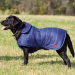 Weatherbeeta Tweed Dog Coat - Navy
