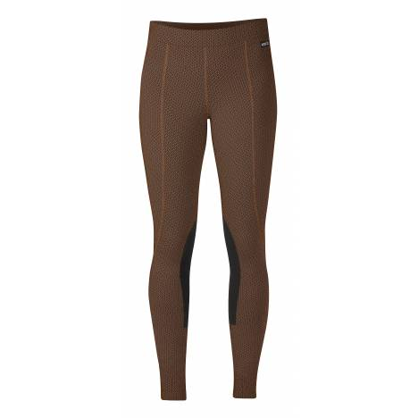Kerrits Ladies Fleece Performance Tight - Dark Acorn