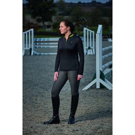 Dublin Ladies Shadowfax Cdt Long Sleeve Zip Thru Top