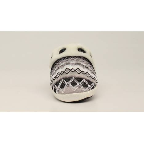 Blazin Roxx Ladies Zig Zag Bling Slide Slippers