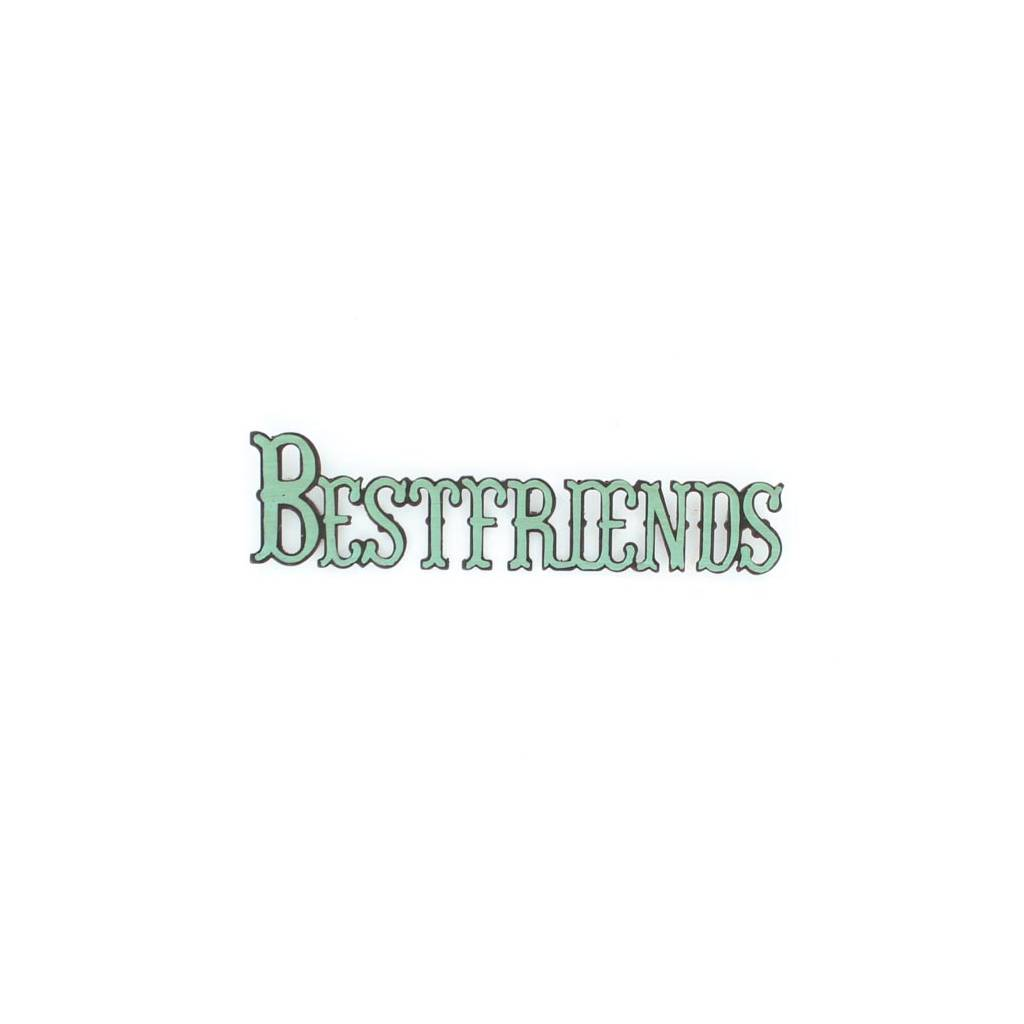 Western Moments Bestfriends Magnet