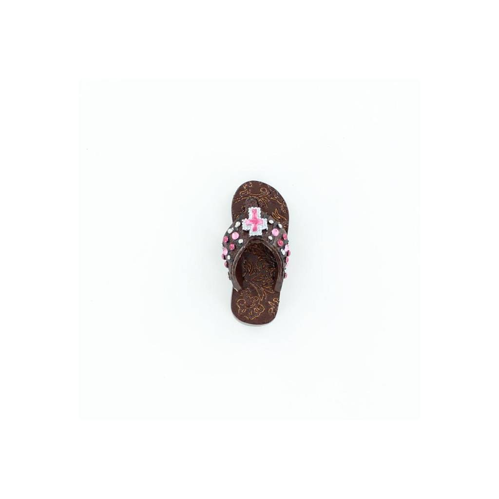 Western Moments Cross Concho Flip Flop Magnet