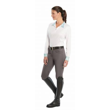 Ovation Ladies Destiny Knee Patch Super-X Grip Breeches