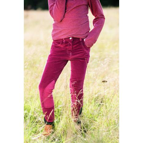 Horseware Kids Knitted Cord Breeches