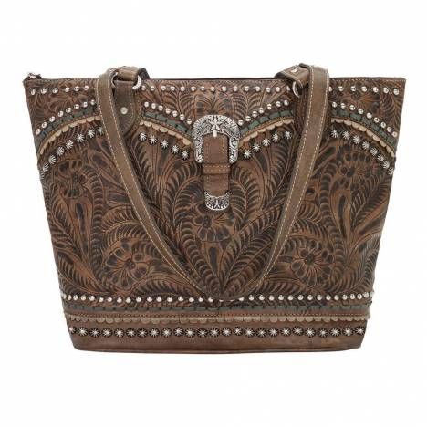 American West Blue Ridge Zip Top Tote