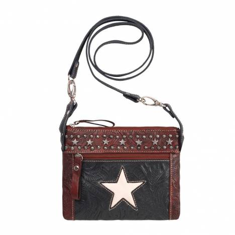 American West Trail Rider Hip/Crossbody Bag - Stars
