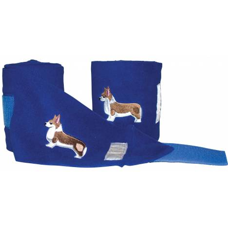 Lettia Embroidered Corgi Polo Wraps
