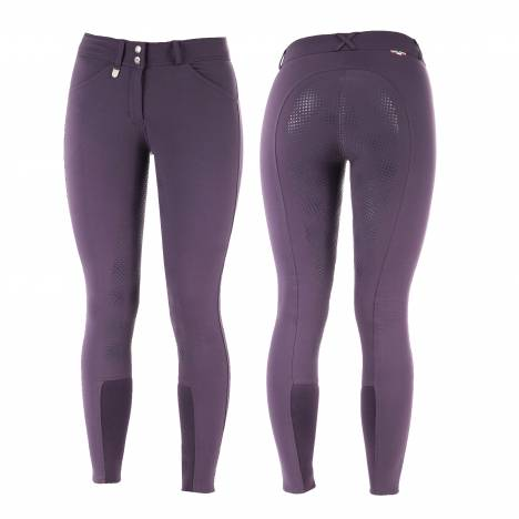 Horze Grand Prix Girls Silicone Grip Full Seat Breeches