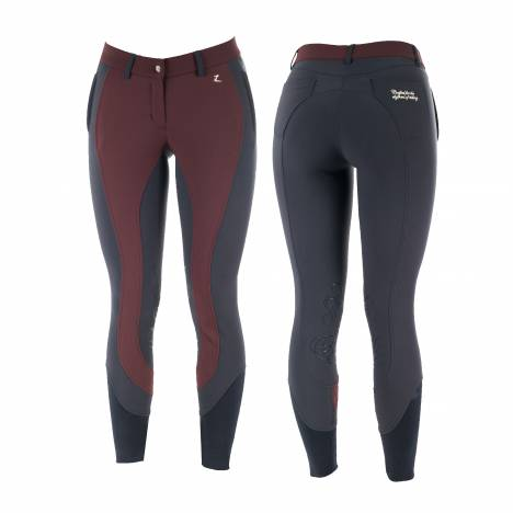 Horze Ladies Kiana Self Patch Riding Breeches