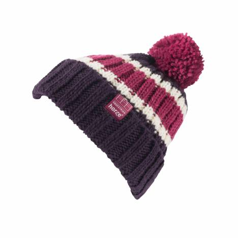 Horze Striped Knitted Hat