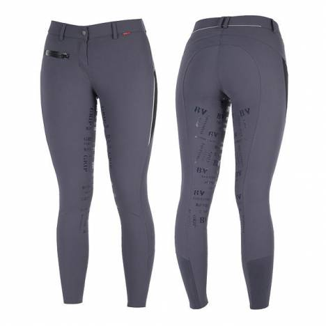 B Vertigo Ladies Skylar Silicone Full Seat Breeches