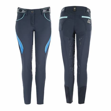 B Vertigo Ladies Xandra BVX Silicone Full Seat Breeches