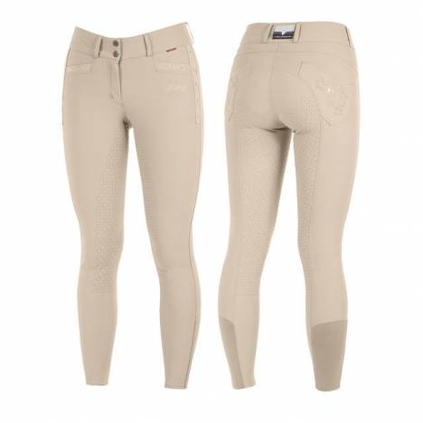 B Vertigo Ladies Carina Silicone Full Seat Breeches