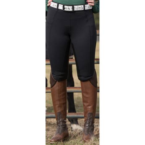 Fits Ladies All Season Full Seat Breeches - Black