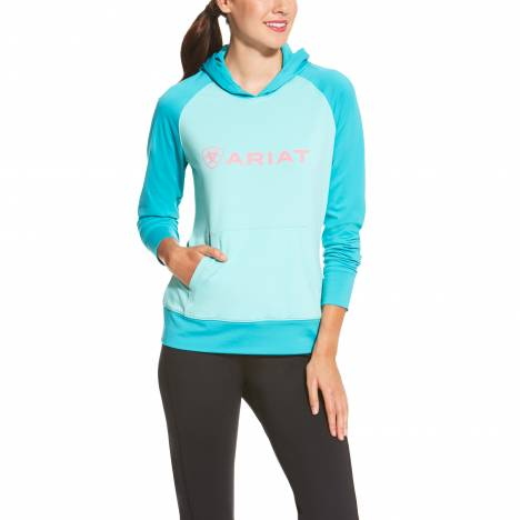 Ariat Ladies CB Pullover Hoodie - Bluebird