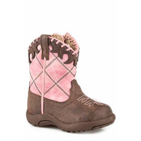 Roper Kids Lacy Pre-Walker Cowboy Boot