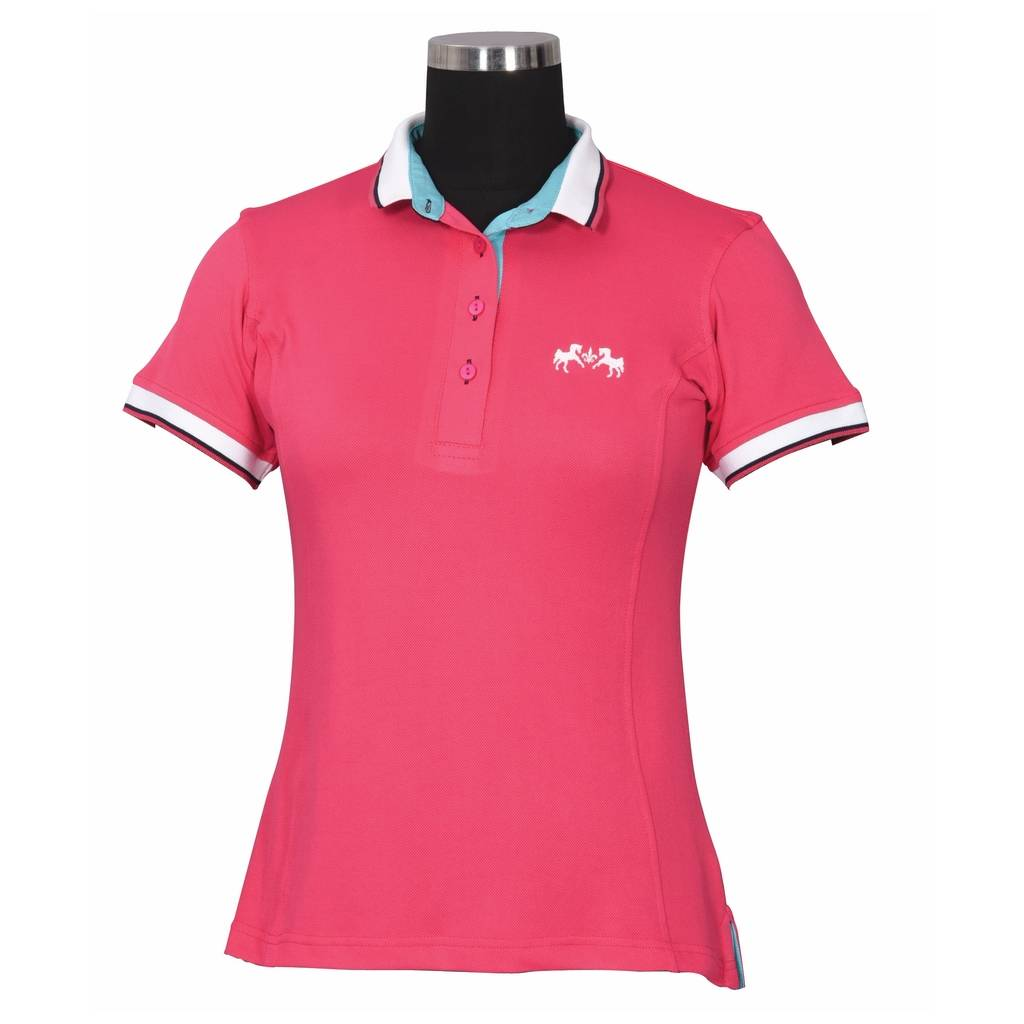 Equine Couture Ladies Kirsten Short Sleeve Polo Shirt