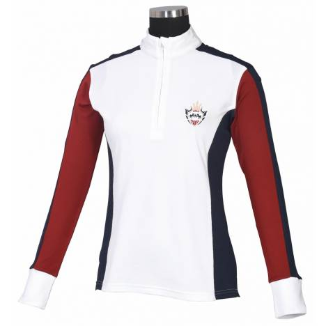 Equine Couture Ladies Dennison Long Sleeve Shirt