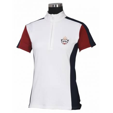 Equine Couture Ladies Dennison Short Sleeve Shirt