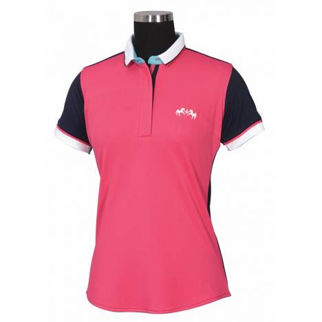 Equine Couture Ladies Pearl Short Sleeve Polo Shirt